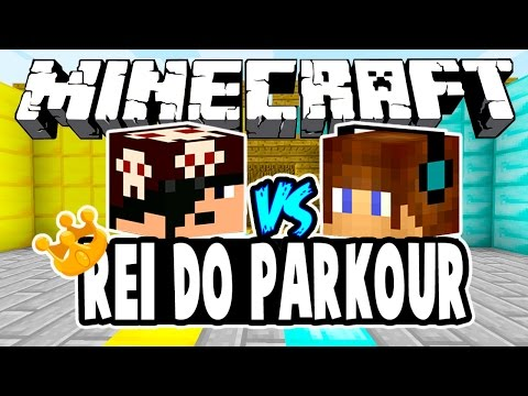 Fenom Vs Authentic! - REI DO PARKOUR: Minecraft + Desafio