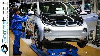 BMW i3 Production - CAR FACTORY - How It's Made ASSEMBLY Electric Cars