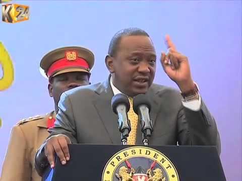 Security Is A Shared Responsibility, President Kenyatta Tells Kenyans
