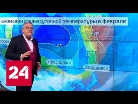 Прогноз на февраль: погоду будет лихорадить - Россия 24
