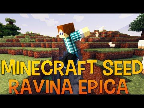 Minecraft Seed 1.5.1 | Diamantes,Stronghold e Mina Abandonada em Uma Ravina