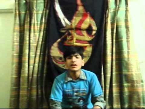 Naqvi Media Soz: Meri Sakina Soja  By: ali Hassam video