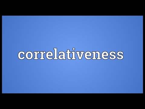 Header of correlativeness
