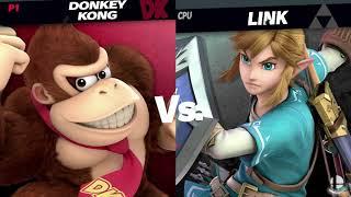 Super Smash Bros. Ultimate: Donkey Kong vs Link