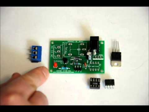 The PIR Relay Driver DIY Kit With Internal Timer - You Build It Yourself!