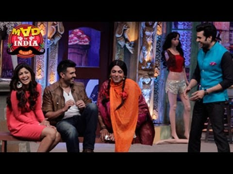 Shilpa Shetty & Harman Baweja On Mad In India 9th March 2014 Episode video
