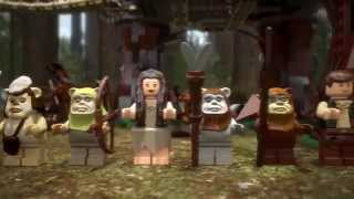 Lego StarWars | 10236 | Ewok Village | Lego 3D Review | HD