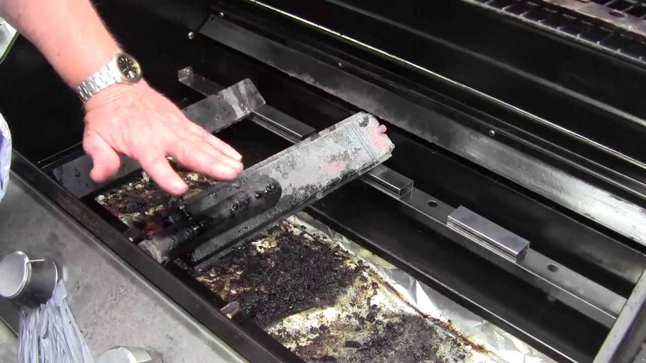 Gas Grill Cleaning And Repairs 1 Of 2 Youtube