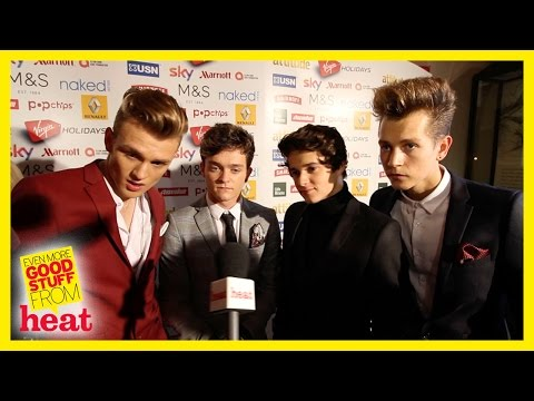 The Vamps Attitude Awards 2014 talk about their new game and tour