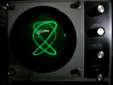 Heathkit 10-12 Oscilloscope function test