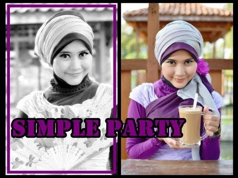Tutorial Hijab Pesta Wisuda | Tutorial Hijab Modern Paris by ...