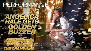 Angelica Hale America's Got Talent: The Champions sings Fight Song