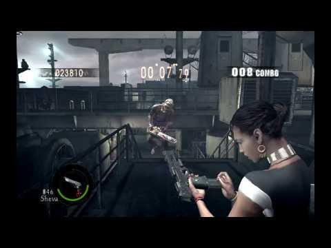 Resident evil 5 Sheva a normal girl