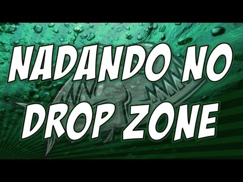 Nadando no Drop Zone