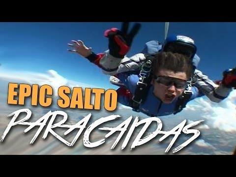 EPIC SALTO EN PARACAIDAS