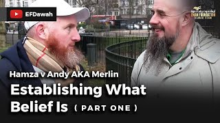 Video: Reality is an illusion. Belief in reality is a dangerous delusion - Hamza Myatt vs Andy The Merlin 1/2