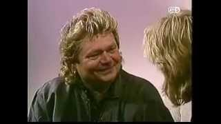 1992 - AT5 - André Hazes interview - Mieke vd Wey