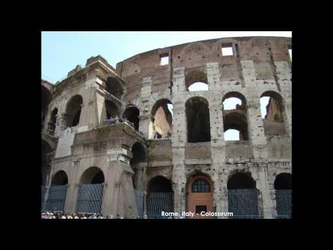 Europe Travel (part 2 of 5) Pisa,Rome,Vatican - Italy, Lucerne - Switzerland, Brussels - Belgium