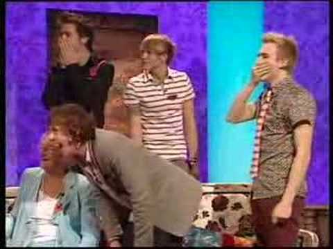 mcfly being busted on paul o grady!!!
