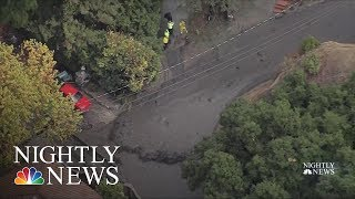 California Community Hopes Steel Nets Will Protect Against Mudslides | NBC Nightly News