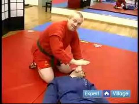 How to Do Sambo Martial Arts : The North South Position in SAMBO Martial Arts Image 1