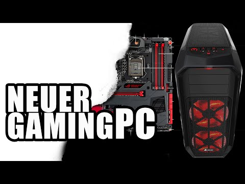 Neuer Gaming PC powered by ASUS, CORSAIR und INTEL