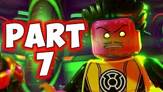 LEGO DC SUPERVILLAINS - PART 7 - SINESTRO RESCUE! (HD)