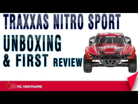 Traxxas Nitro Sport Unboxing & First Review