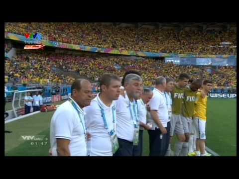 WORLD CUP 2014: Đá luân lưu 11 mét trong trận Brazil - Chile (28-6-2014)