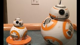 Star Wars Sphero Bb 8 Vs Hasbro Bb 8 Comparison Review