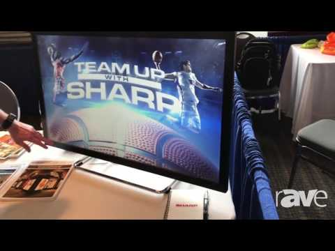 AVI LIVE: Sharp Presents 10-Point Touch 40-Inch Collaboration Monitor