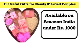 15 Useful Gifts for Newly Married Couples in India| Latest 2019 | Available Online on Amazon