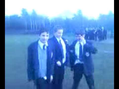 Mcauley school!!!Brad, connor, ashley Spaz run + three sum :L