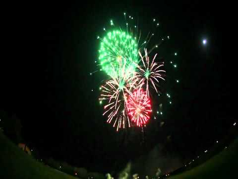 Santa Claus UK Fireworks Display - Voice Actor Scott Fortney