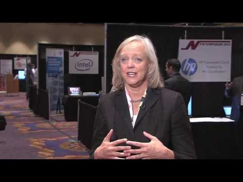 Meg Whitman (President/CEO at Hewlett Packard) at NTH Generation's 13th Annual Technical Symposium