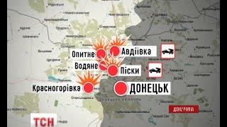 Бойовики розгорнули активність на передовій біля Горлівки - (видео)