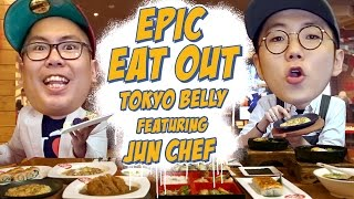 Epic Eat Out #9: Mukbang with Jun Chef at Tokyo Belly | PUTRA SIGAR FEAT. JUN CHEF