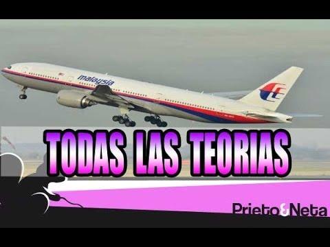 (NUEVA SECCION) MISTERIO: Todas las teorías    Avión desaparecido de Malaysian Airlines