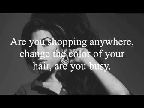 Amy Winehouse- Valerie Lyrics