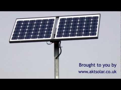 Autogates using AKT Solar panels