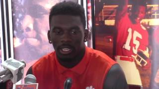TigerNet.com - Tavien Feaster: They brought me here for a reason