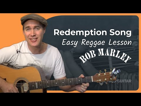 Bob Marley - Redemption Song (Easy Songs Beginner Guitar Lesson BS-905) How to play