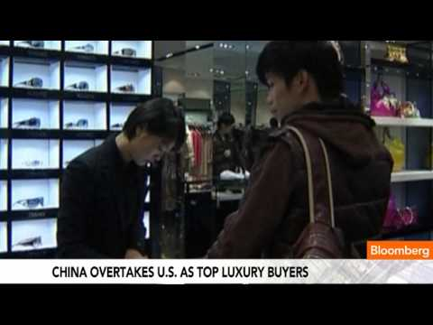 China Overtakes U.S. as top Luxury Buyers