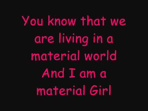 Hilary Duff Ft. Haylie Duff - Material Girl - Lyrics - YouTube Hilary Duff Lyrics