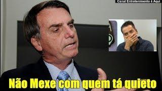 Entrevistador tentou intimidar Bolsonaro e se deu mal