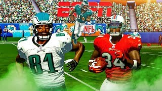 ESPN Sunday Night Football 🏉ESPN 2K5 in 2018!! What if we had this game still? Philly vs. Miami!