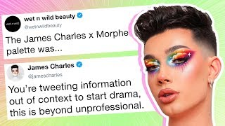 James Charles Gets Exposed by Wet n Wild, Fans Now Call Him a Hypocrite