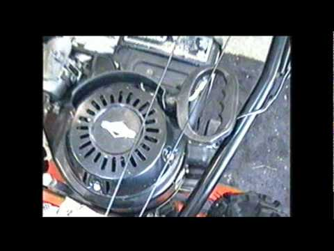 HOW TO REPAIR Riveted Pull Start on Briggs & Stratton Snowblower Engine PART 1/2