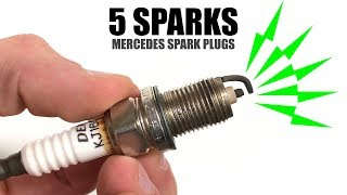 Mercedes Spark Plugs Fire 5 Times For Better Efficiency