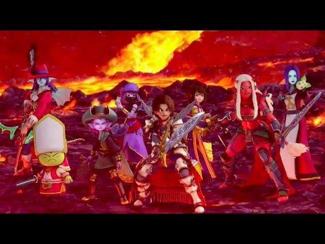 Dragon Quest X: The Five Awakening Races Online - Trailer